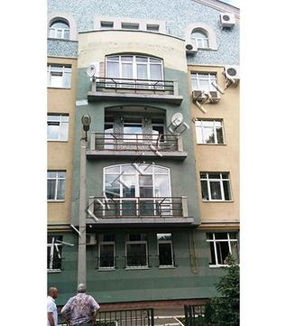 Пробковая покраска фасада